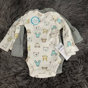 Carters Preemie Long Sleeves Onesies